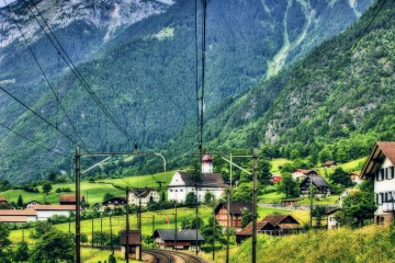 The Train to Lucerne, Switzerland
