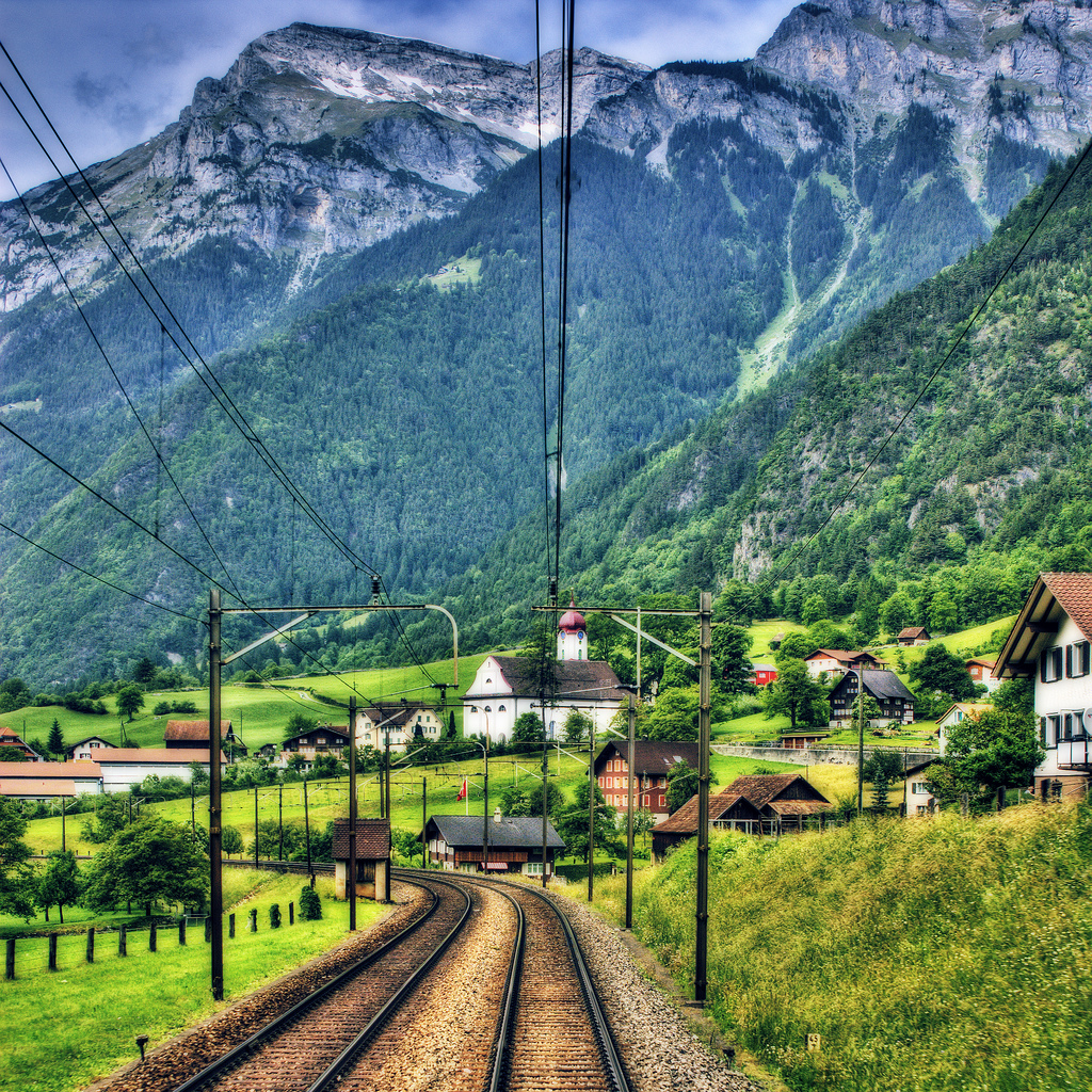 The Train to Lucerne, Switzerland