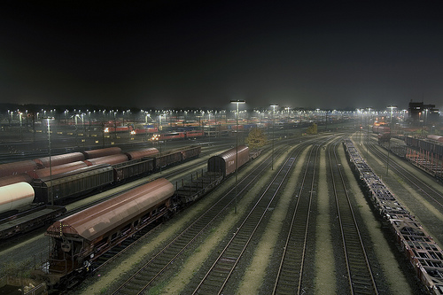 Maschen Train Yard, Germany