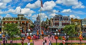 Magic Kingdom Panorama, Orlando, Florida (panorama)