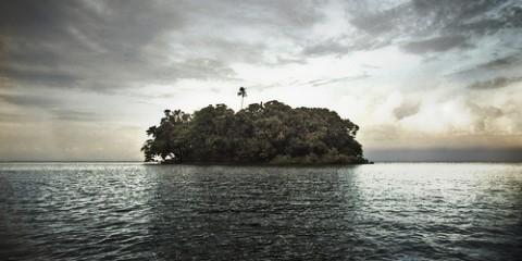 Island near Nicaragua (HDR)