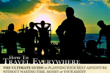 How to Travel Everywhere (eBook cover)