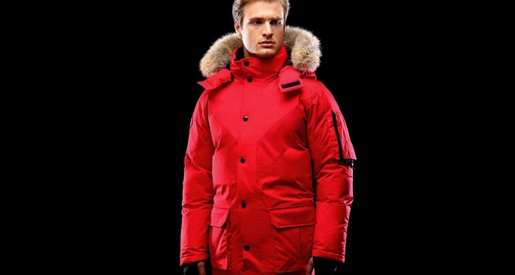 Triple F.A.T. Goose Hesselberg Coat (red)