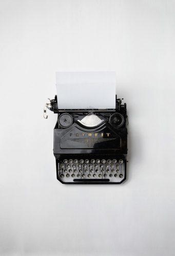 Old Timey Typewriter