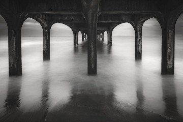 Under Boscombe Beach Pier, United Kingdom