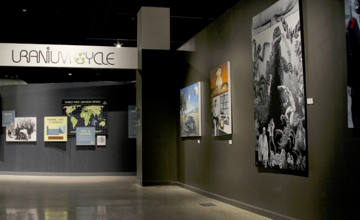 Uranium Cycle Exhibit at Albuquerque's Nuclear Museum