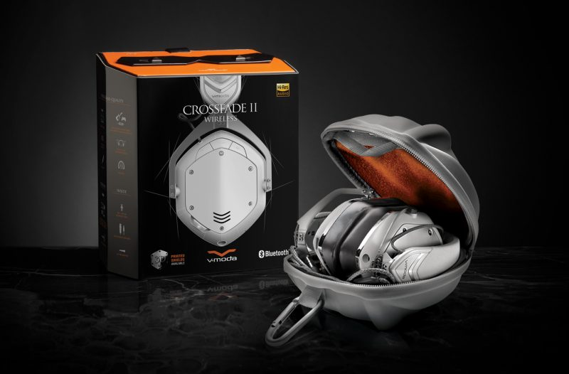 V-MODA Crossfade 2 Wireless Headphones (in Matte White)