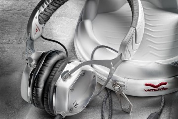V-MODA Crossfade M-80 White Pearl Headphones