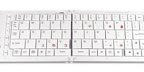 Verbatim Wireless Bluetooth Mobile Keyboard (white)