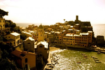 Vernazza from Above, Italy