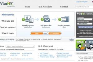 VisaHQ.com (homepage)