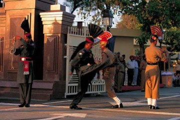 Wagah Border Crossing Ceremony