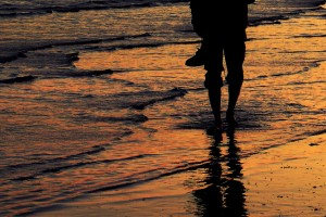 Walking the Beach in Hormozgan, Iran