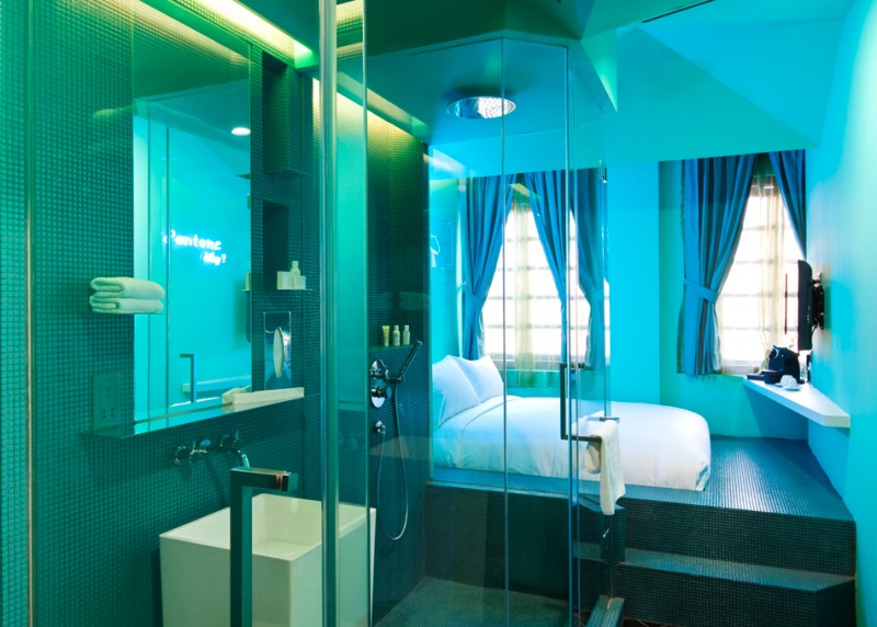 Wanderlust Hotel, Little India, Singapore (interior of room)