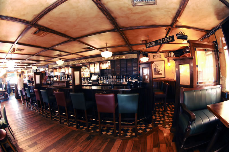 Waxy's Irish Pub in Fort Lauderdale, Florida
