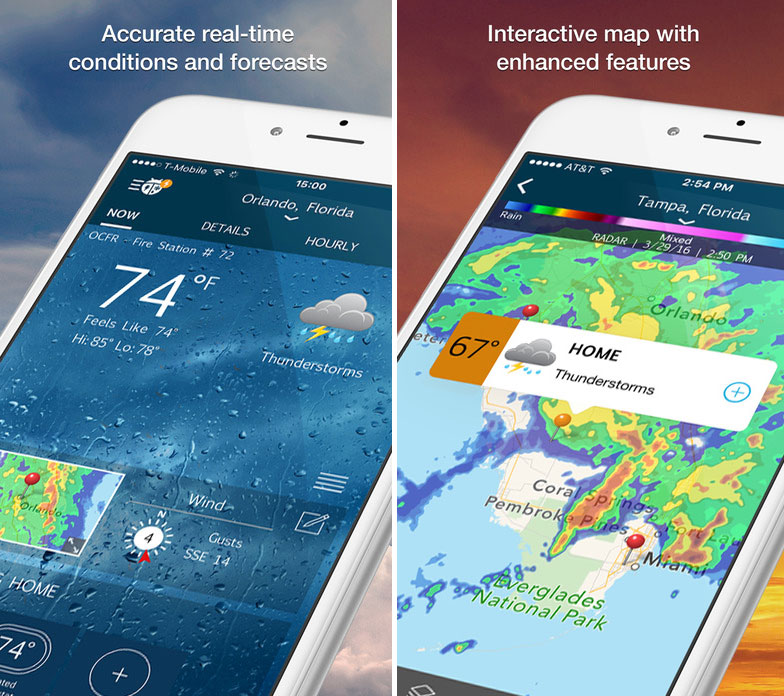 WeatherBug iOS Mobile App