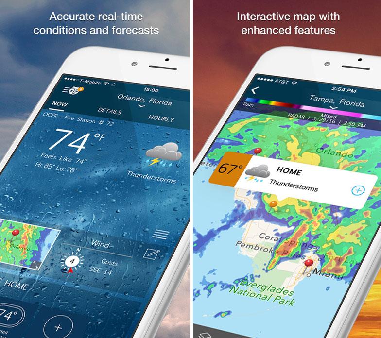 WeatherBug iOS Mobile App