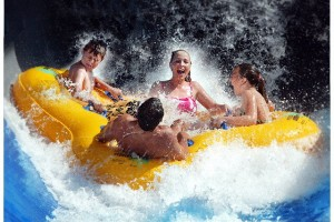 Disco H20 Water Ride at Wet 'n Wild Orlando, Florida