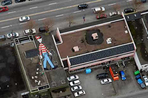 Google Earth Waldo
