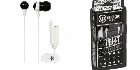 Wicked Audio Heist Earbuds (black and white)