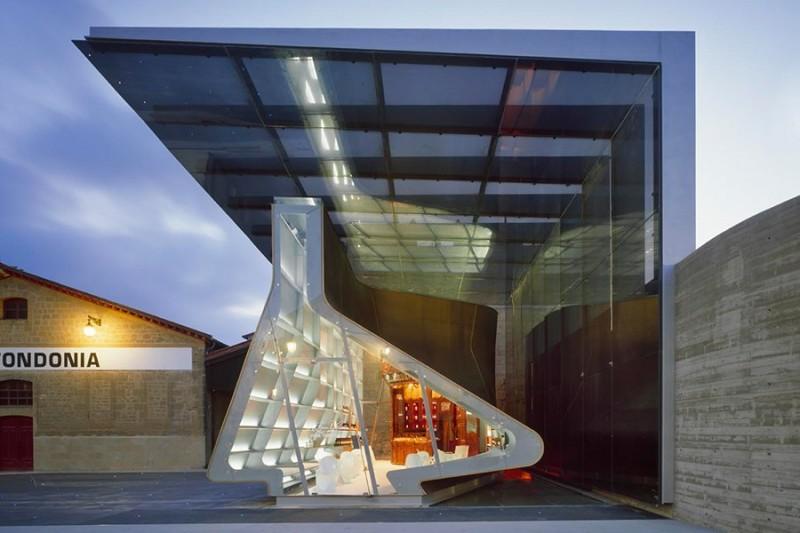 Wine Tasting Room at R. Lopez de Heredia in Spain