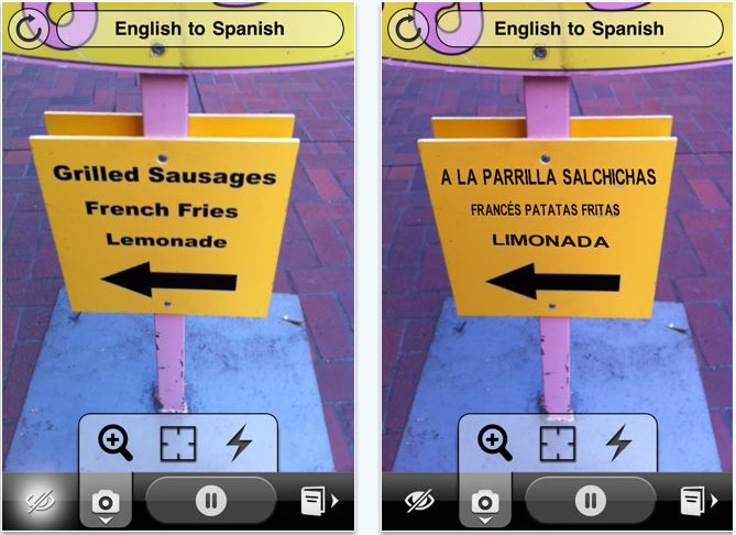 Word Lens: Augmented Reality App Provides Instant Language ...