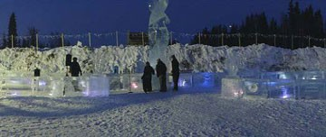 World's Longest Ice Luge by Wicked Audio