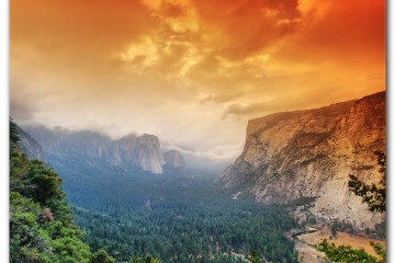 The Taking of Yosemite Valley, California