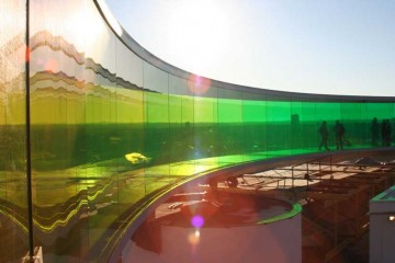 """Your Rainbow Panorama"" Art Installation in Denmark"