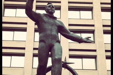 Yuri Gagarin Statue, London