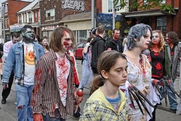 zombie parade toronto